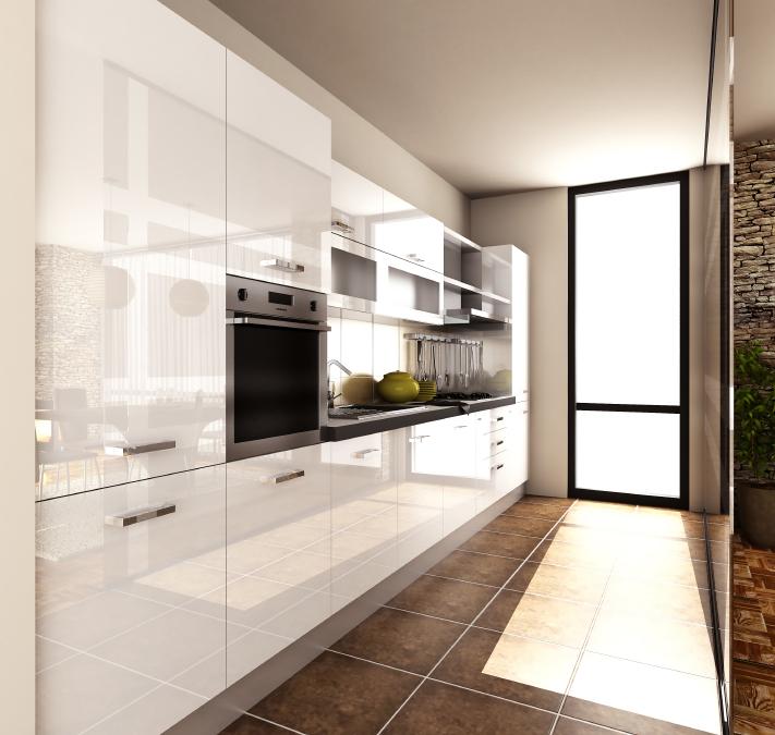 Anwendungen in Küchen:: Ertl Glas Design